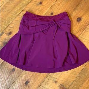 Athleta burgundy Whatever skort Size 6